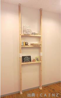 簡単なDIY棚のイメージ写真
