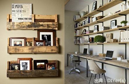 魅力的な飾り棚の写真