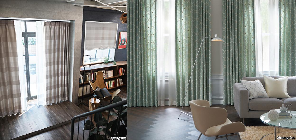中間色の部屋の写真