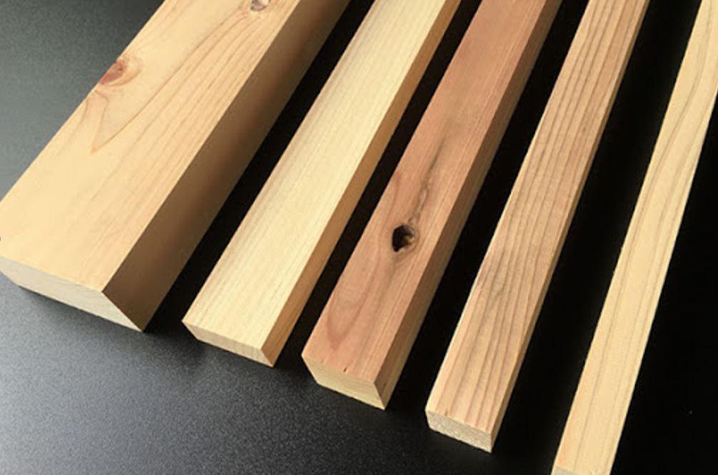 木材のサイズのイメージ画像