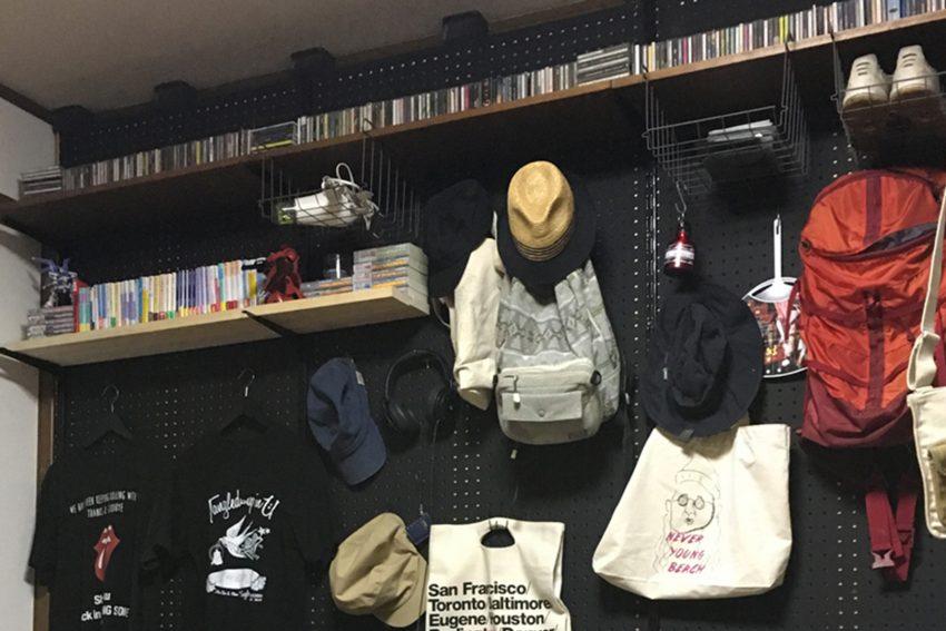 DIYの飾り棚の写真
