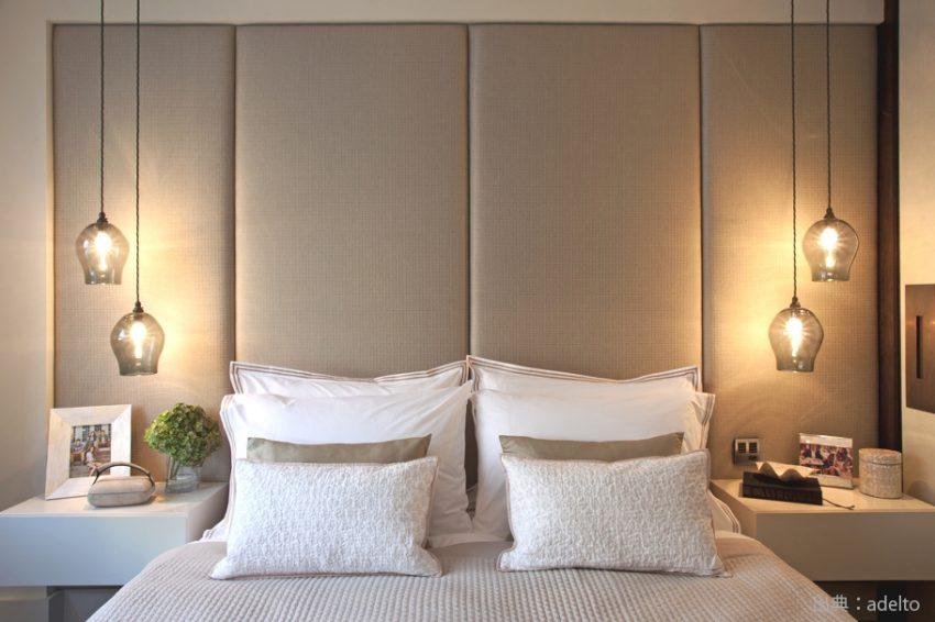 寝室照明のコーディネート例