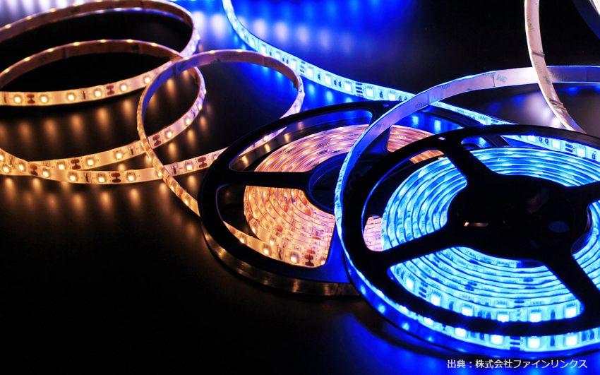 LEDテープライトの写真