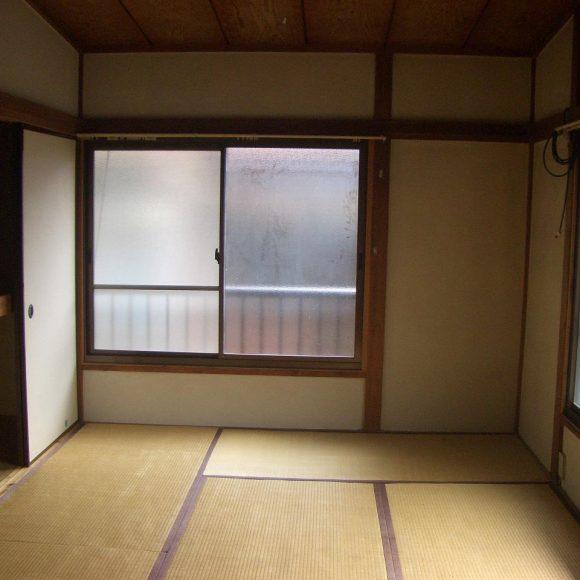 リノベ前の和室の写真